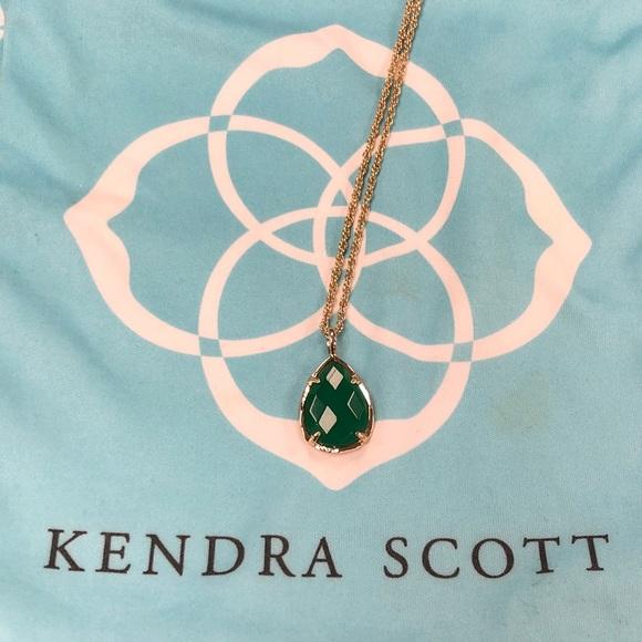 684451d1d3defb Kendra Scott Jewelry - Kendra Scott Kiri Teardrop Pendant Necklace